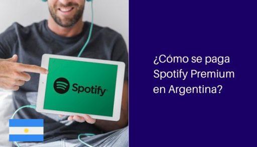 como pagar spotify en argentina