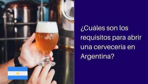 requisitos para abrir cerveceria argentina