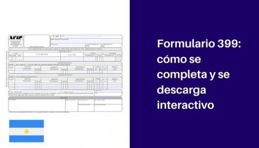 formulario 399 interactivo