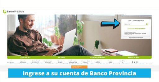 ingresar cuenta en banco provincia