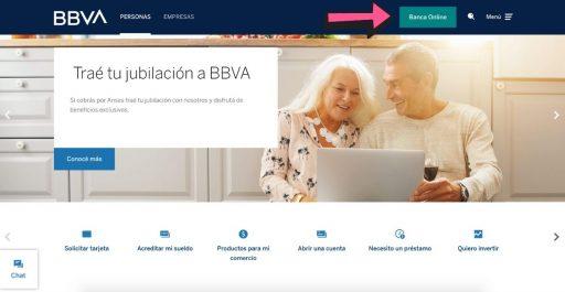 ingresar al home banking bbva